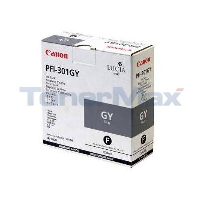 CANON PFI-301GY INK GRAY 330ML